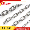 Galvanized DIN766 Welded Steel Link Chain for Marine Lifting