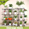 DIY Storage Cube Shelfs Metal Rack Garden Shelf/Balcony Shelf