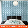 Building Materials PVC Waterproof Wallpaper Wallcovering for Commercial Buildings