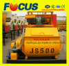 Twin Shaft Js500 Concrete Mixer on Promotion