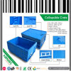 Convenient Turnover Plastic Collapsible Crate