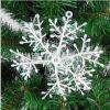 Plastic Christmas Decoration Snow