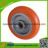 Industrial Aluminum Core Elastic PU Caster Wheel