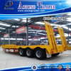 Customized 30-80 Tons Low Bed Semi Trailer/Truck Trailer