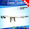 3 Axles Extendable Flatbed Semi Trailer with Container Twistlocks