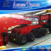 Lowbed Three Lines Six Axles Semi Trailer Truck Trailer