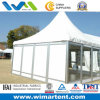 8mx8m White Pagoda Tent with Glass Window for Party