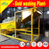 Alluvial Dlay Gold Mineral Machine/Mobile Placer Gold Mineral Equipment
