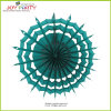 Chrsistmas Green Honeycomb Snowflake Paper Fan