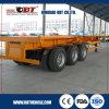Tri-Axle Container Skeletal Truck Semi Trailer with 60ton