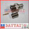 BNC Male Crimp CATV Connector for Coaxial Cable