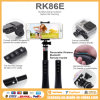 Hot New Products for 2015 Icanany Rk86e Aio Make-up Mode Selfie Stick Pack with Flash Light 8in1 Kit Parts, Handheld Monopod