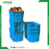 Plastic Vented Crate for Vegetables and Fruits