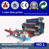 Unwinding and Rewinding in One Side 2 Color Flexo Printing Machine