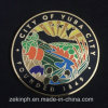 Challenge Coin with Cloisonne Hard Enamel
