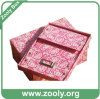 Brand Foldable Paper Storage Box / Rigid Cardboard Folding Box