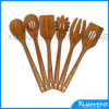 Handicrafts Spun Bamboo Spoon and Fork in Natural Color