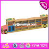 New Design Cartoon Bus Shape Multi Storage Shelf Wooden Kids Storage Cabinet W08c208