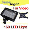 160 126 LED Video Camera Hot Shoe Light Lamp