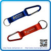 2017 New Arrival Soft PVC Keychain with Polyester Strap