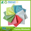 Assorted Color Microfiber Kitchen Cleaning Cloths with Poly Scour Side