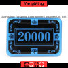 2017 New Shape / Crystal Acrylic Poker Chips with Crown Screen Casino Chip (YM-CP026-27)