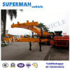 Vietnam Tri-Axle 40FT Skeletal Container Truck Semi Trailer for Port