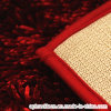Bright Color Tufted Chenille Floor Mat Rug with Polyester