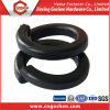 Black Carbon Steel Spring Washer, Spring Washer DIN127
