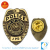 Customized Police Badge with Antique Gold Finished