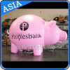 Gaint Inflatable Moving Animals Pink Pig Balloon for Parade