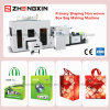 Hot Sale Full Auto Computer Control Primary Shaping Non Woven Box Bag Machine (ZX-LT400)