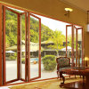 Hotel Design Thermal Break Aluminium Folding Door with Doulbe Glazed (FT-D75)