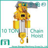 2016 Shengqi 10 Ton Electric Chain Hoist with Hook Block