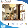 Wooden Grain Aluminum Open Inside Casement Window