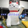 Lucky Cat Inflatable Cartoon Model, Outdoor Inflatable Cat Cartoon, Giant Advertisement Cartoon