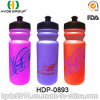 600ml Customized Wholesale PE Sports Water Bottle (HDP-0893)
