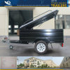 6 X 4 Powder Coated Canopy Trailer Box Utility Trailer
