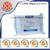 Cleaning Wipes for Remove Make-up & Waterproof Mascara for Refreshed Skin with Lotus Extract & Vitamins