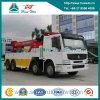 Sinotruk HOWO 300HP 50t 360 Degree Rotational Wrecker Crane