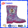 Fashion Colorful PVC Rain Boots for Children/Girls (TNK70010)