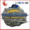 Custom Sandblasting High Quality Motorcycle Racer Style Glitter Medals