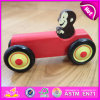 Kids Educational Toys Smart Wooden Animal Car Toy, Lovely Monkey Wooden Toy Car for Children W04A173