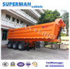 25cbm 3 Axle Front Lifting Tipper/ Tipping/Dumper Semi Truck Trailer