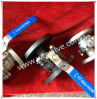 2PC Mounting Pad DIN Pn16/Pn40 Flanged Ball Valves
