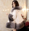 New Arrival Fashion Ladies Warm Mink Fur Coats