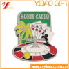 Custom Soft Silver Enamel Badge for Promotional Gifts (YB-LP-54)