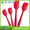 Premium Silicone Spatula Set of 4 with Hygienic Solid Coating