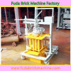 Portable Movable Brick Making Machine with Wheels Qmr2-45
