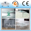 3mm-19mm Clear&Tinted Flat Curved Tempered/Toughened Glass